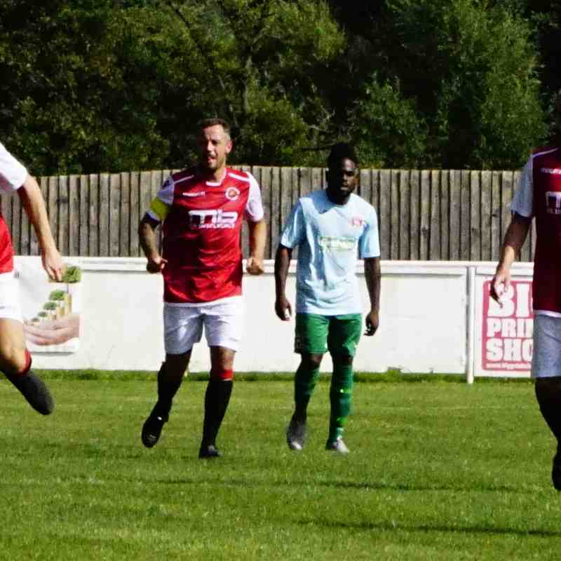 Brad Burgess vs Coventry United - photo courtesy of Mathew Mason