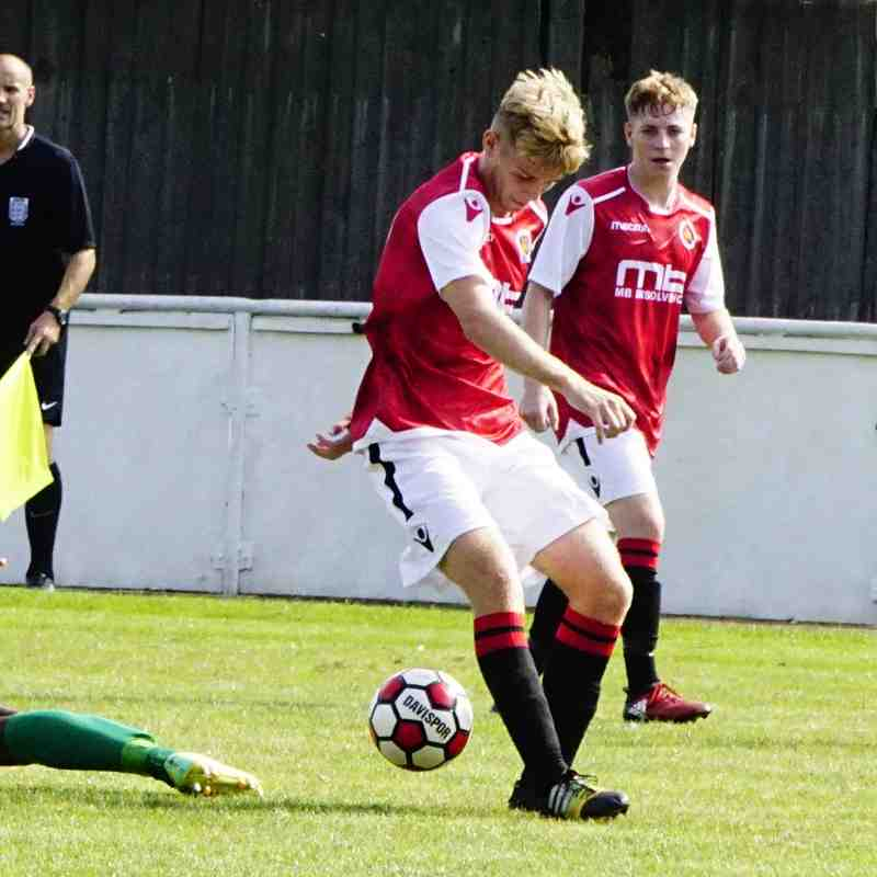 Cory Rudd vs Coventry United - photo courtesy of Mathew Mason