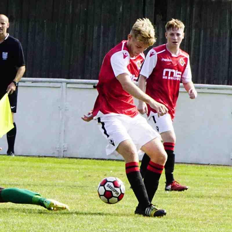 Cory Rudd vs Coventry United - photo courtesy of Mathew Mason