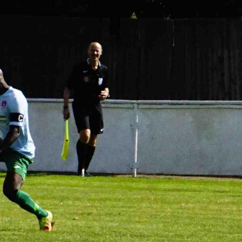Graeme Pardoe vs Coventry United - photo courtesy of Mathew Mason