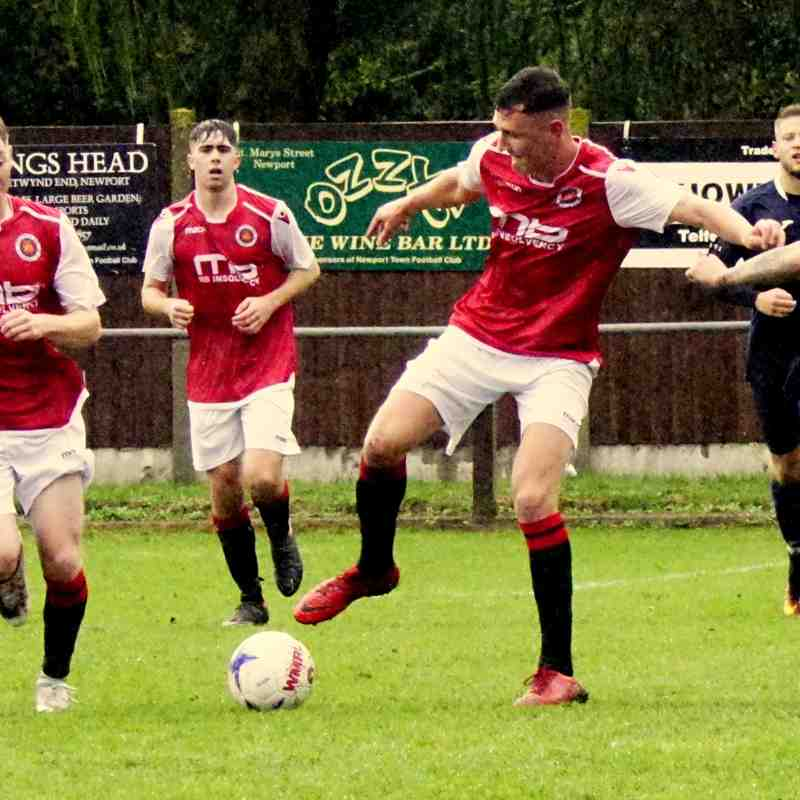 James Lemon vs Newport Town (A) photo courtesy of Mathew Mason