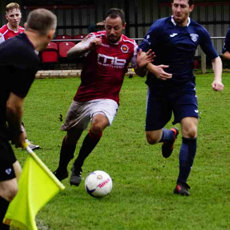 Andy Crowther vs Newport Town (A) photo courtesy of Mathew Mason