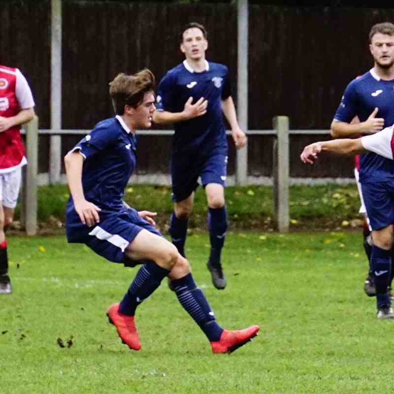 Dan Cottrill vs Newport Town (A) photo courtesy of Mathew Mason