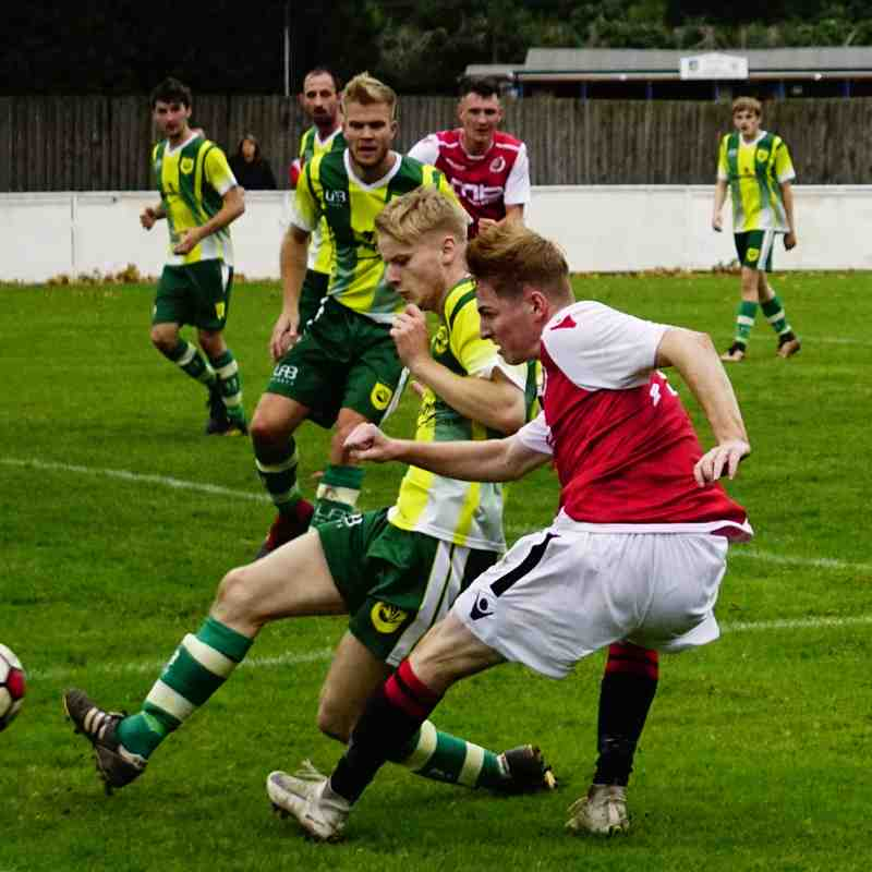 Haydn Morris vs Gornal Athletic (H) photo courtesy of Mathew Mason