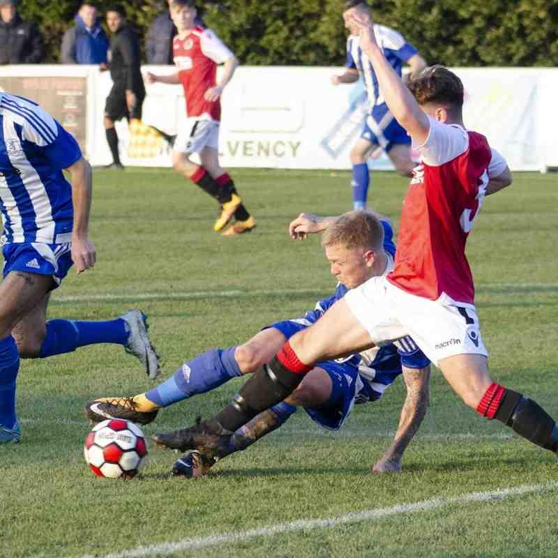 Jonny Brookes vs Darlaston Town (H) photo courtesy of Mathew Mason