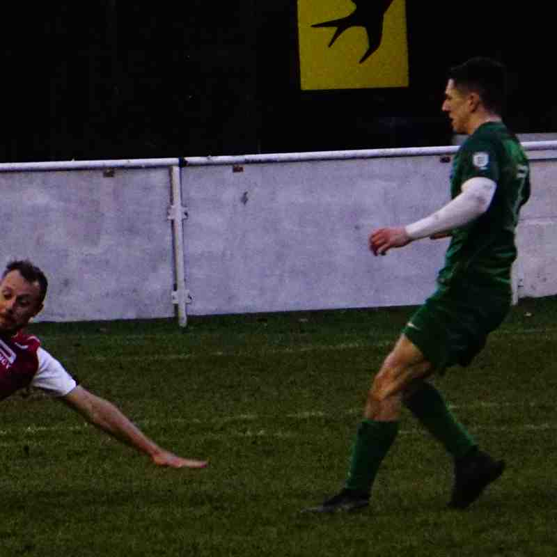 Andy Crowther vs Allscott (H) photo courtesy of Mathew Mason