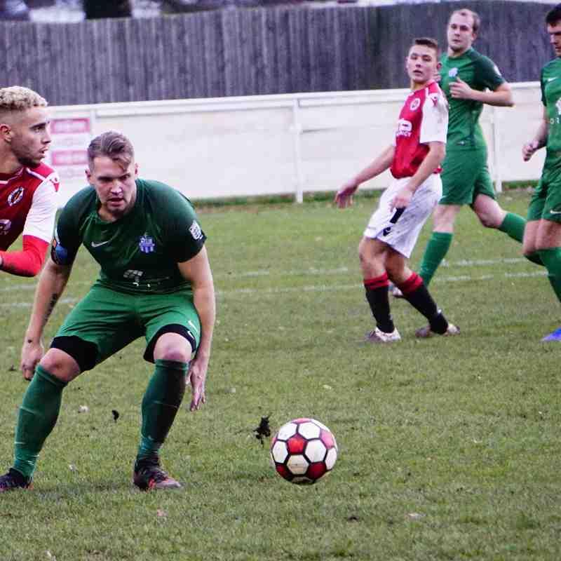 Ben Tilbury vs Allscott (H) photo courtesy of Mathew Mason
