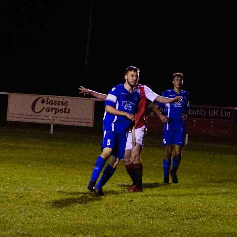 Brad Burgess  vs Bromyard Town (A) photo courtesy of Mathew Mason