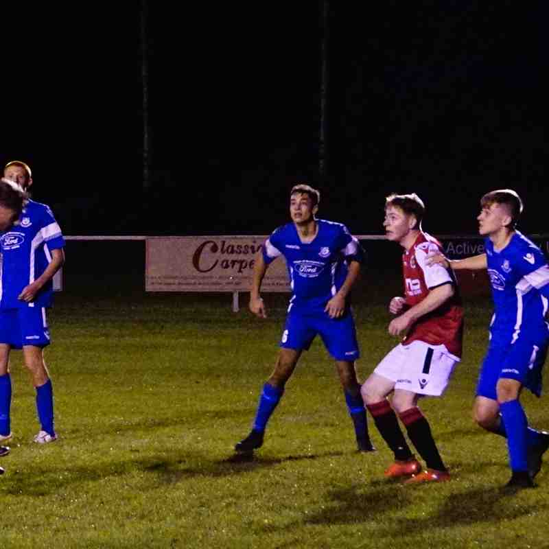 Mike Seeley  vs Bromyard Town (A) photo courtesy of Mathew Mason