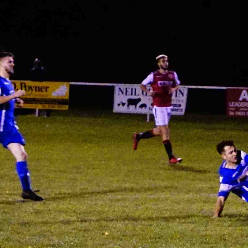 James Lemon  vs Bromyard Town (A) photo courtesy of Mathew Mason