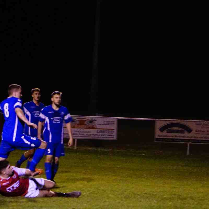 Curtis Townley  vs Bromyard Town (A) photo courtesy of Mathew Mason
