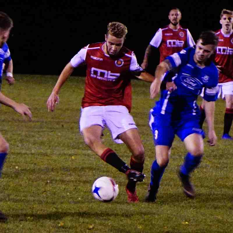 Ben Tilbury  vs Bromyard Town (A) photo courtesy of Mathew Mason