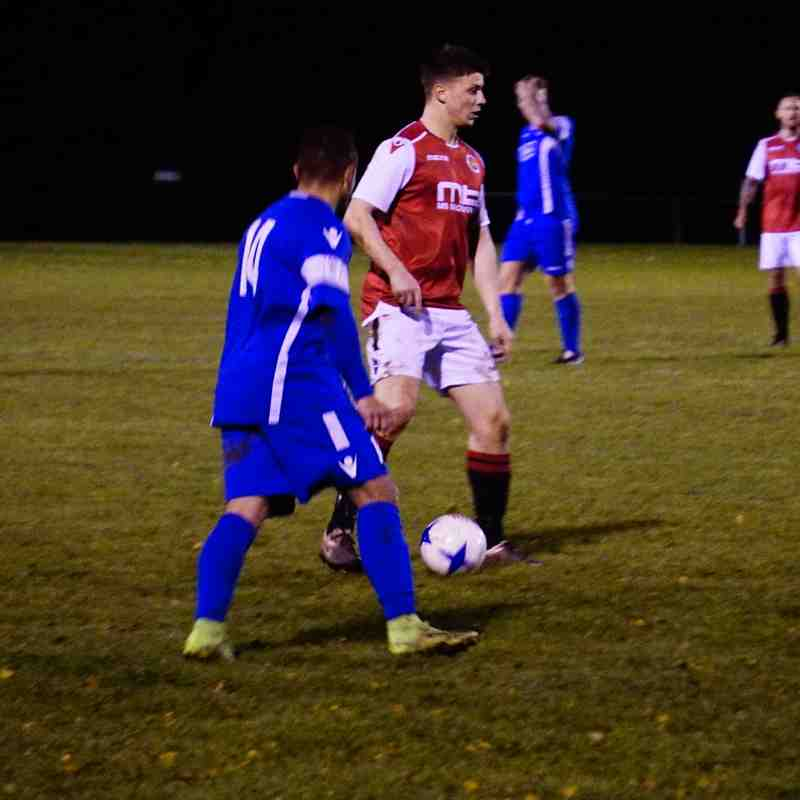 Max Crisp  vs Bromyard Town (A) photo courtesy of Mathew Mason