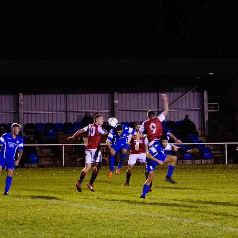 Dan Cottrill  vs Bromyard Town (A) photo courtesy of Mathew Mason