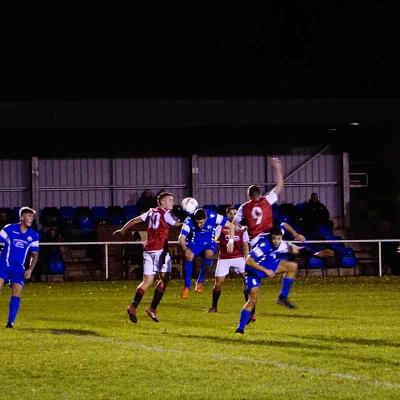 Dan Cottrill  vs Bromyard Town (A) photo courtesy of Mathew Mason