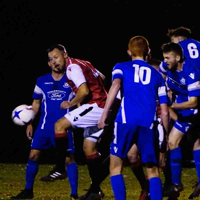 Andy Crowther  vs Bromyard Town (A) photo courtesy of Mathew Mason