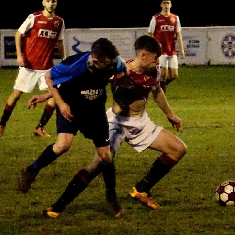 Jack Davies vs Telford Juniors (H) photo courtesy of Mathew Mason