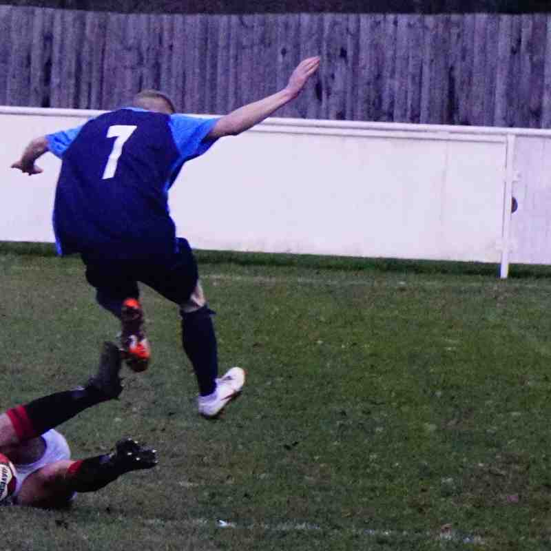 Curtis Townley vs Telford Juniors (H) photo courtesy of Mathew Mason