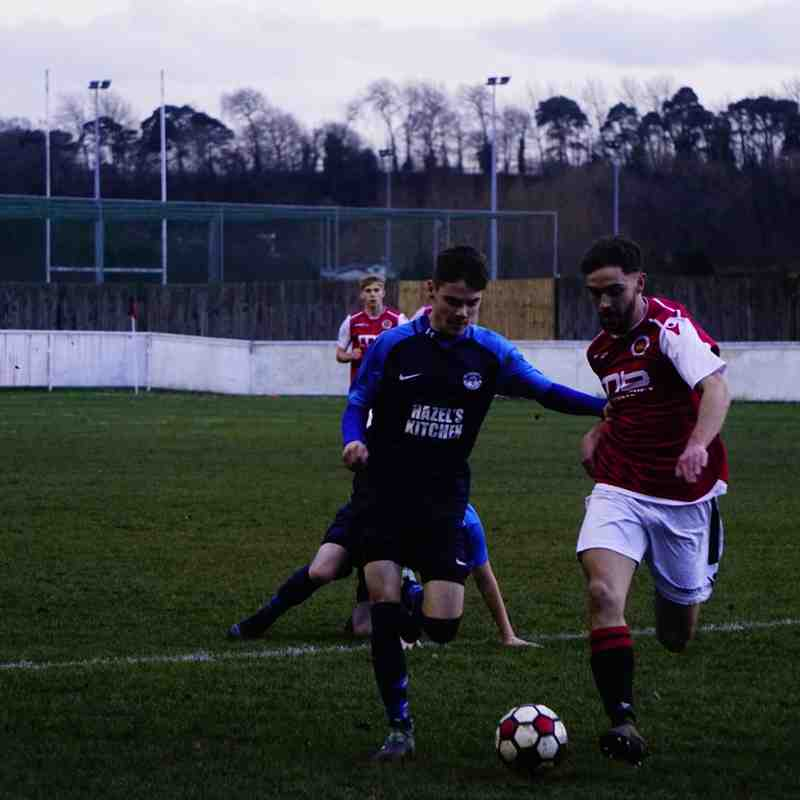 Brad Burgess vs Telford Juniors (H) photo courtesy of Mathew Mason