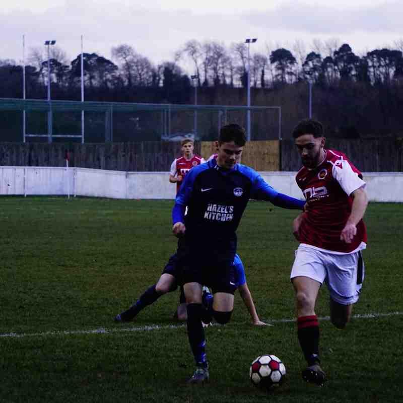 Brad Burgess vs Telford Juniors (H) photo courtesy of Mathew Mason