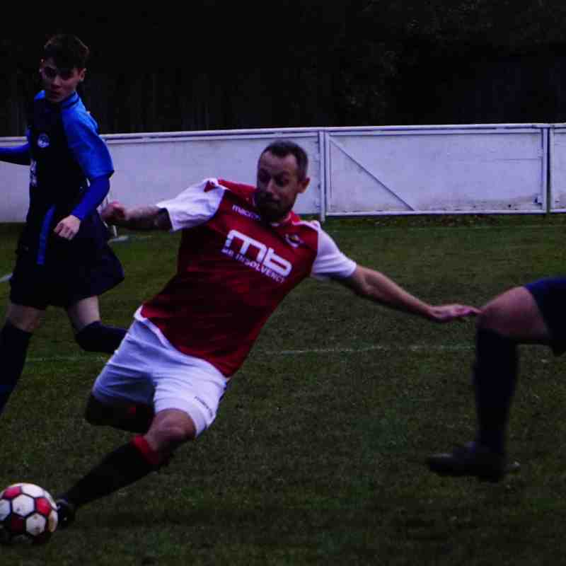 Andy Crowther vs Telford Juniors (H) photo courtesy of Mathew Mason