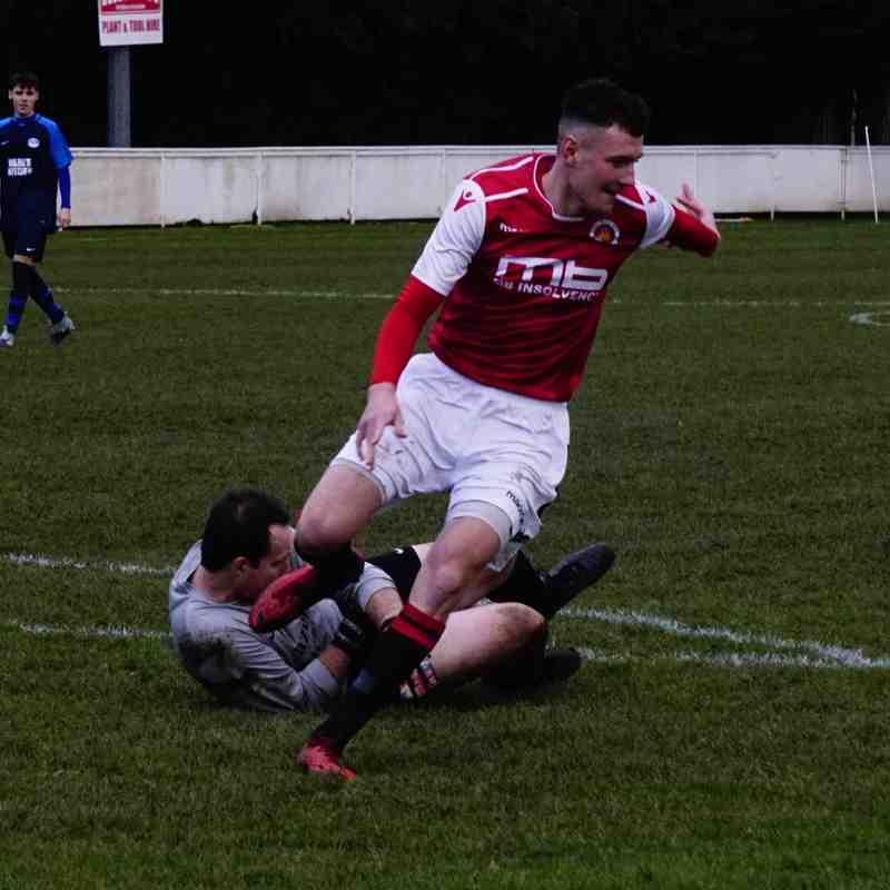 James Lemon vs Telford Juniors (H) photo courtesy of Mathew Mason