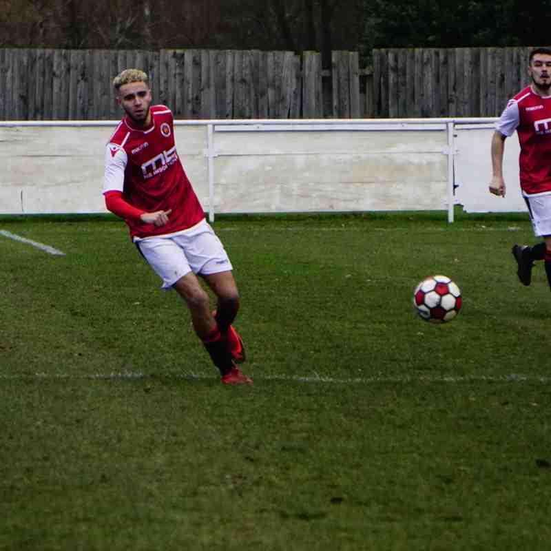 Ben Tilbury vs Telford Juniors (H) photo courtesy of Mathew Mason