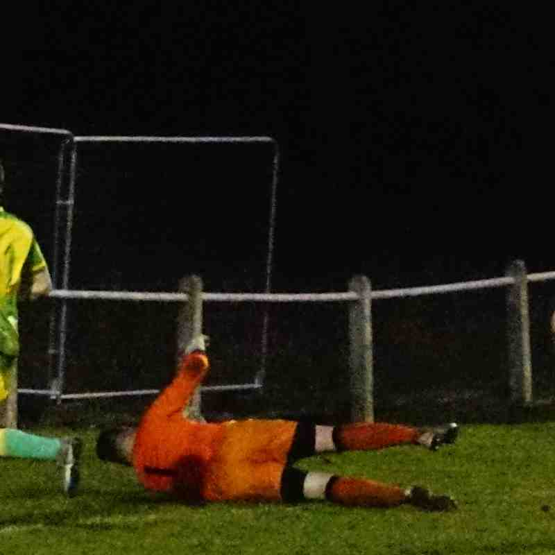 James Lemon rounds off the scoring vs Bustleholme (A) photo courtesy of Mathew Mason