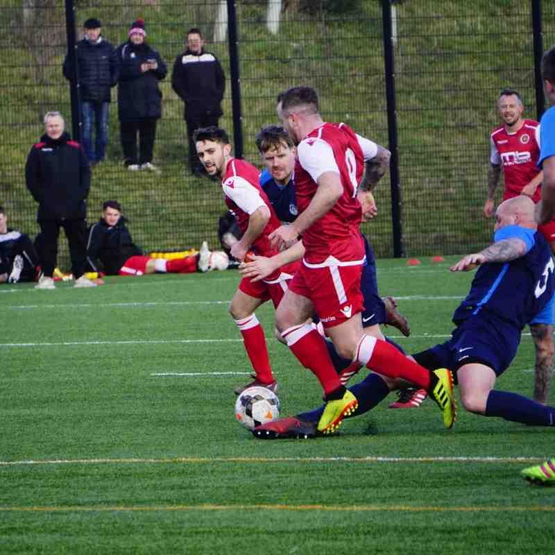 Chris Conway vs Telford Juniors (A) photo courtesy of  Mathew Mason