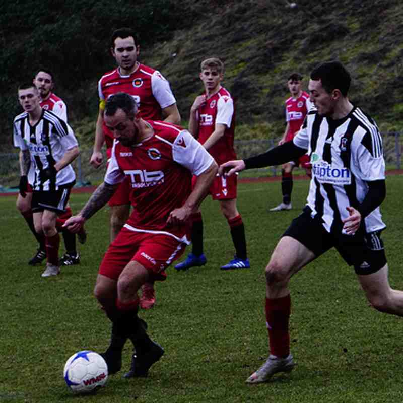Andy Crowther vs Tipton Town (A) photo courtesy of Mathew Mason