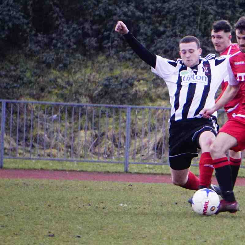 Brad Burgess vs Tipton Town (A) photo courtesy of Mathew Mason