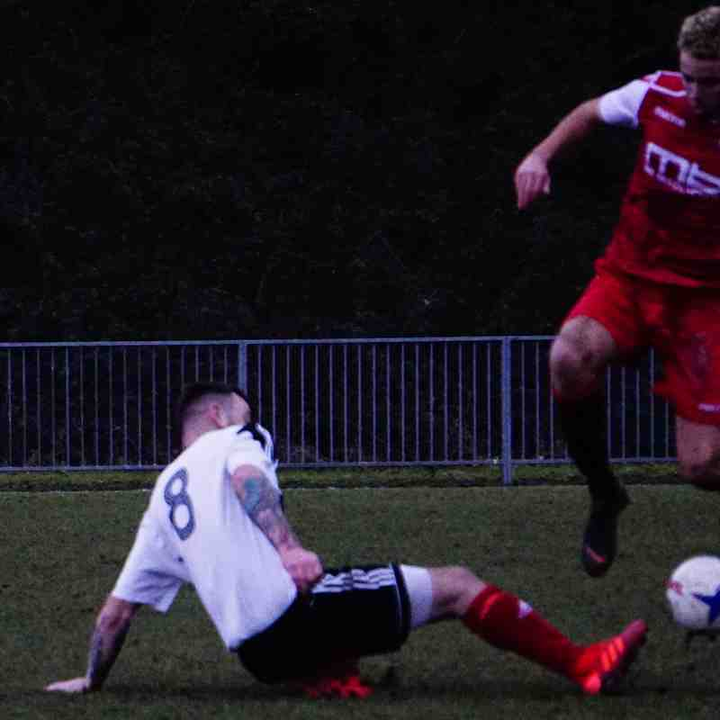 Ben Tilbury vs Tipton Town (A) photo courtesy of Mathew Mason