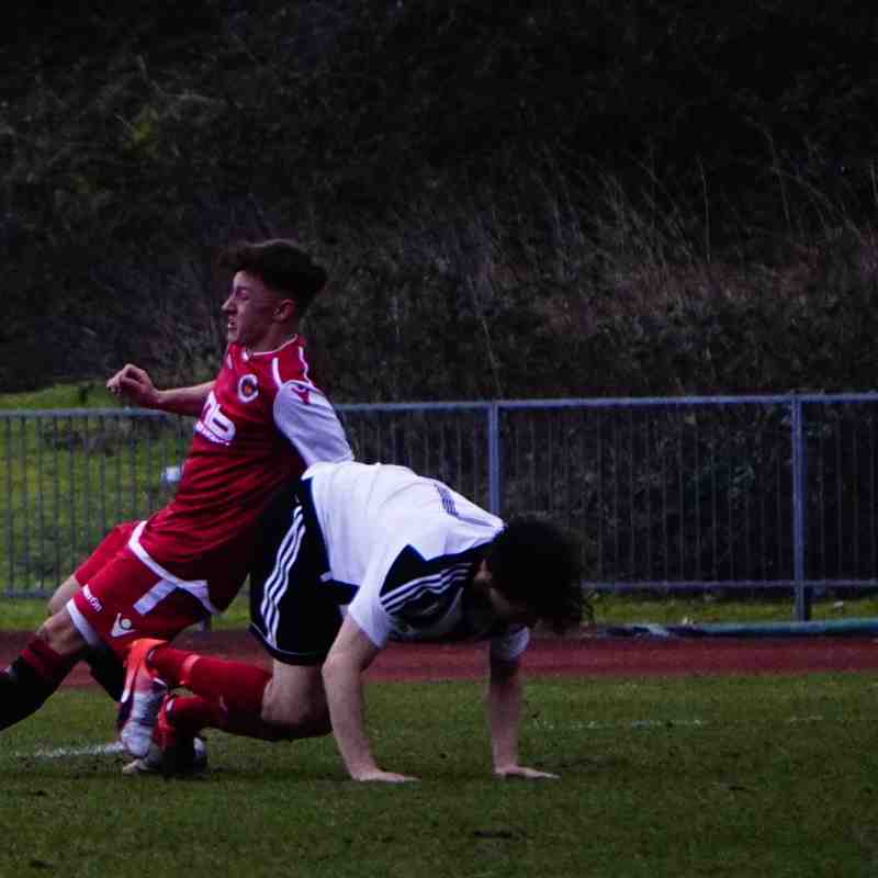 Jonny Brookes vs Tipton Town (A) photo courtesy of Mathew Mason