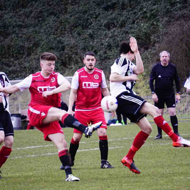 Max Crisp vs Tipton Town (A) photo courtesy of Mathew Mason
