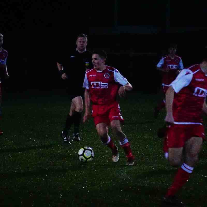 Dan Cottrill vs Wrens Nest (A) photo courtesy of Mathew Mason