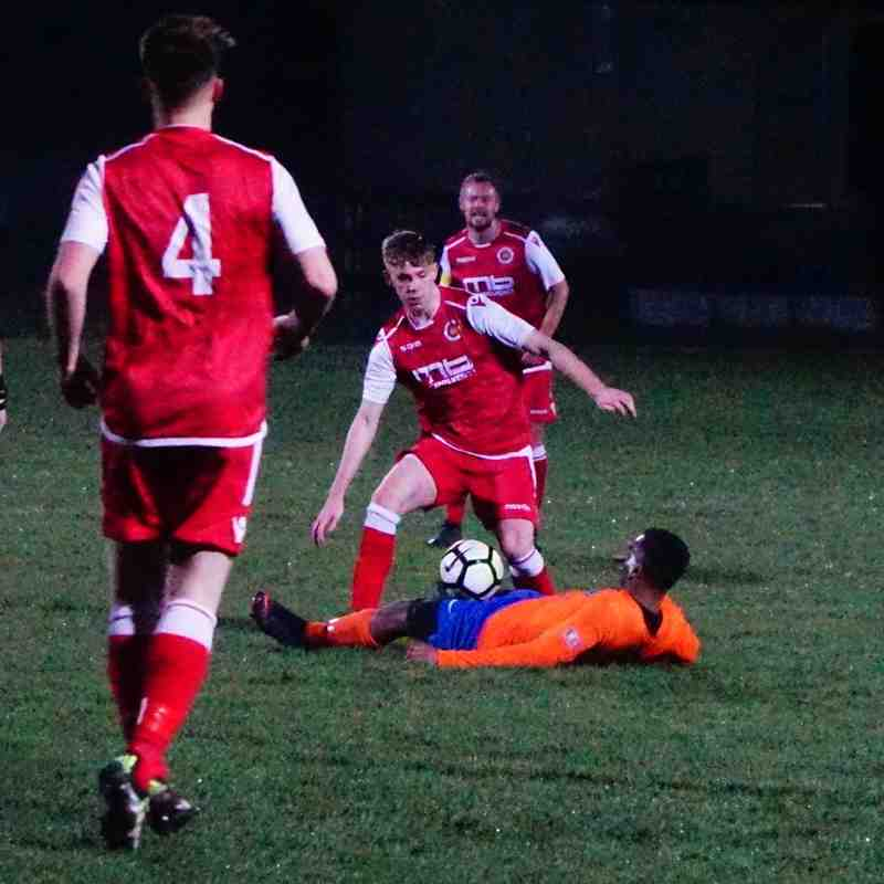 Cory Rudd vs Wrens Nest (A) photo courtesy of Mathew Mason