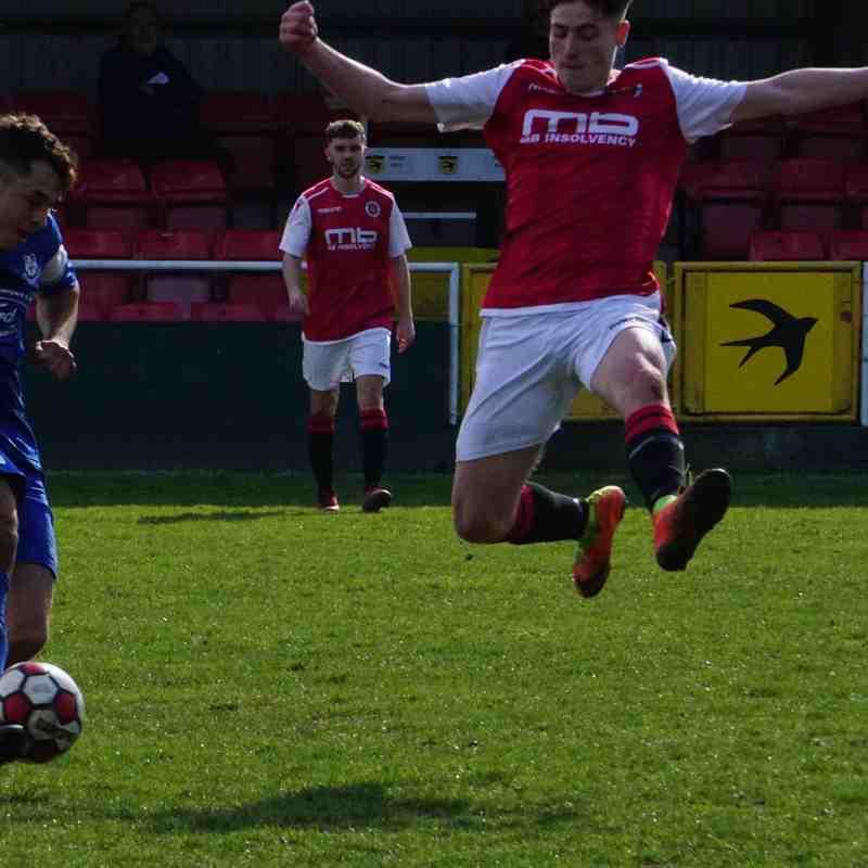 Jack Davies vs Bromyard Town (H) photo courtesy Mathew Mason