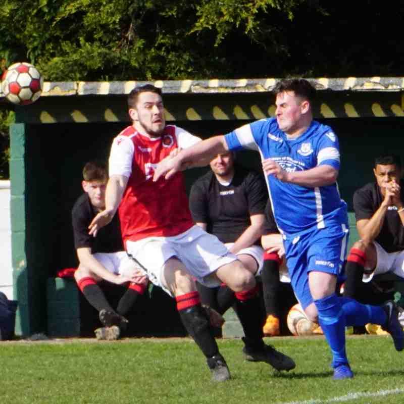 Matty Hunt vs Bromyard Town (H) photo courtesy Mathew Mason