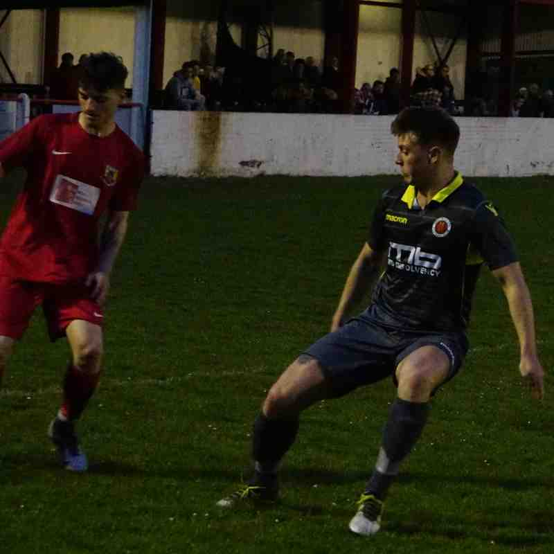 Max Crisp vs Willenhall Town (A) photo courtesy of Mathew Mason