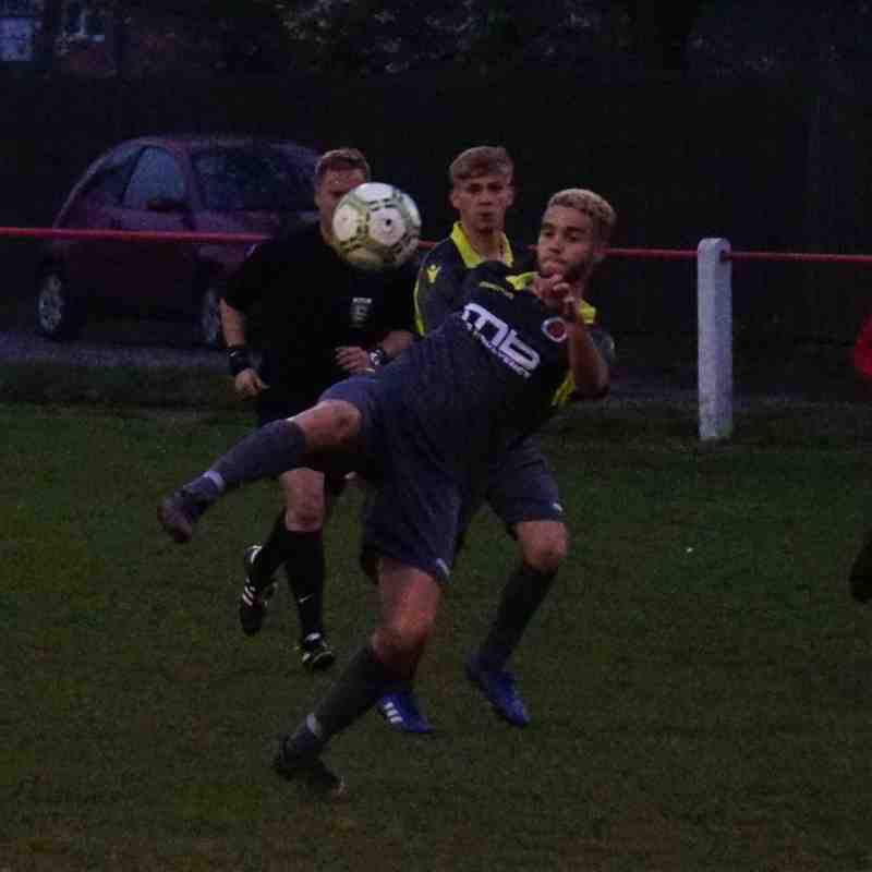 Ben Tilbury vs Willenhall Town (A) photo courtesy of Mathew Mason