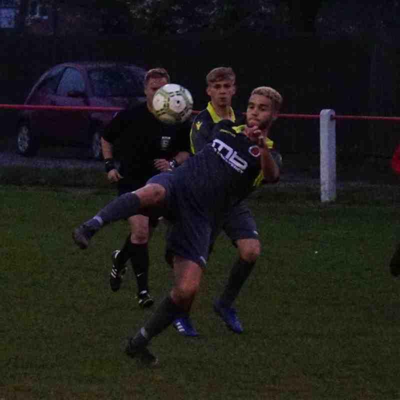 Ben Tilbury vs Willenhall Town (A) photo courtesy of Mathew Mason
