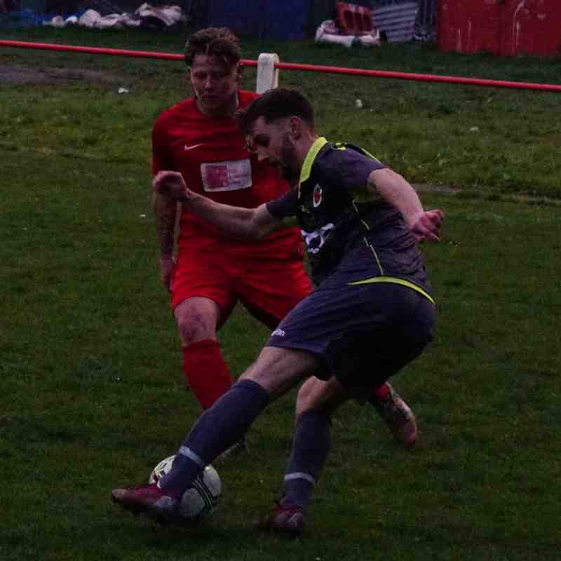 Brad Burgess vs Willenhall Town (A) photo courtesy of Mathew Mason