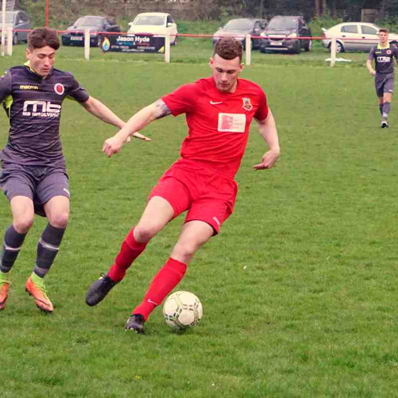 Jack Davies vs Willenhall Town (A) photo courtesy of Mathew Mason