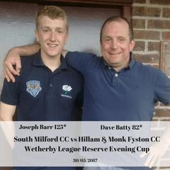 South Milford CC