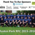 Ruskin Park vs. Oldershaw