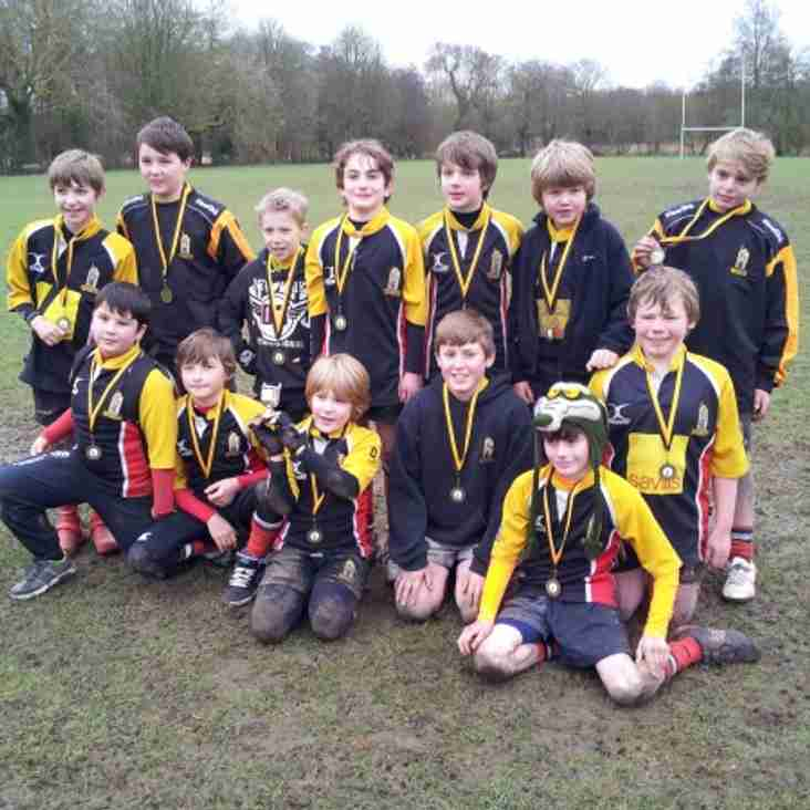 Winchester U11s win the Cup at the Winchester 'A' Festival