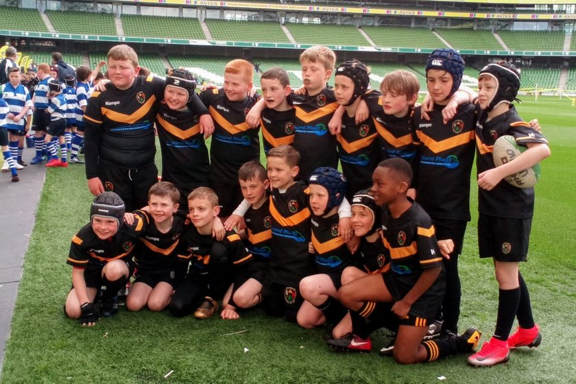 U10s play in national festival in Aviva stadium