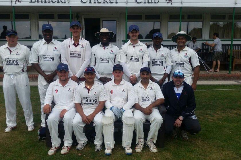 Enfield CC, Middx - 1st XI 198/2 - 197/1 Indian Gymkhana CC - 1st XI