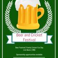 Beer and Cricket Festival