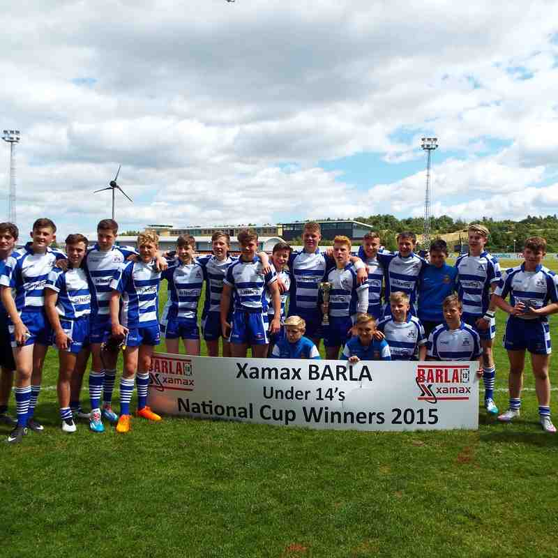 BARLA National Cup Final U14s